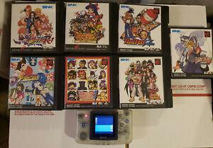 Neo Geo Pocket Color Lot Set