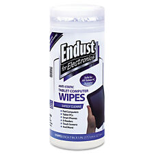 Endust Tablet and Laptop Cleaning Wipes Unscented 70/Tub 12596