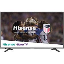 Hisense 43-Inch 4K Uhd & Hdr Roku Smart Tv with Usb & 3 x Hdmi - 43R7080E