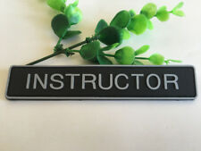 INSTRUCTOR Rubber Tactical Morale Hook PVC Patch Badge armbands