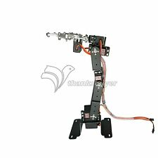 6DOF Mechanical Robot Arm Clamp Claw Mount w/ MG996R Servos f/ Arduino Raspberry
