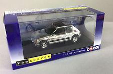 LCC38 - Chrome Peugeot 205 GTi - Corgi Vanguards Limited Edition Model VA12705
