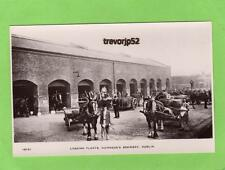 Guinness Brewery Loading Floats Horse & Cart Dublin unused RP pc Hunts Ref A782