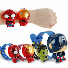 Cool Children Cartoon Character Digital Watch Marvel Kids Wristwatch Wristbands