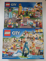 Lot#47 2 SETS LEGO City People Pack 60153 60234 Lots of miinifigures