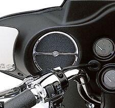 Harley Davidson OEM Touring Electra FLHX Front speaker Trim Chrome  74604-99