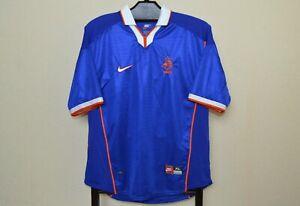 NETHERLANDS AWAY FOOTBALL SHIRT 1998/2000 VINTAGE FOOTBALL JERSEY NIKE MAGLIA