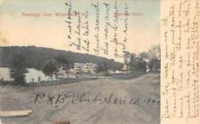 RAPONDA HOTEL Wilmington, Vermont 1905 Vintage Hand-Colored Postcard