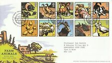 2005 GB Farm Animals Stamps First Day Cover Special Tallents House PMK Ref: MT98