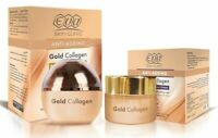 Night Routine EVA Skin Gold Collagen ANTI-WRINKLE CREAM & NIGHT EYE CONTOUR