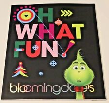 Bloomingdale's 2018 Holiday Christmas Catalog X-mas Magazine gift guide Grinch