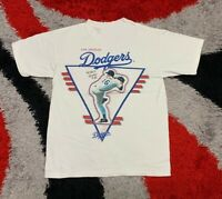 Vintage NOS 1995 Hideo Nomo Los Angeles Dodgers MLB Tee T - shirt 90s DD300