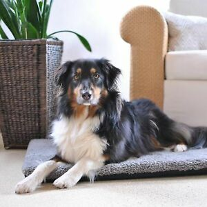 Dog Senior Ortho Mattress Joint Muscle Care Smooth Warm XL 120x85x5 cm Grey