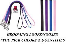 Fashion Color Grooming LOOP for DOG CAT PET Table Arm Bath LOOP Restraint NOOSE