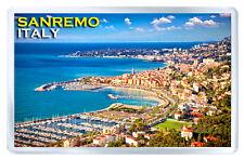 SANREMO ITALY FRIDGE MAGNET SOUVENIR IMAN NEVERA
