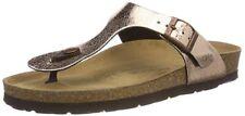 Rohde Alba 5602 Damen Sandale Zehentrenner 39 Kupfer