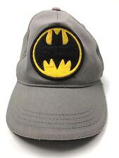 Vintage? DC Comics Batman Patch Gray Hat Cap Youth Size