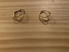 Sarah & Sebastian Fine Gold Hoop Earrings
