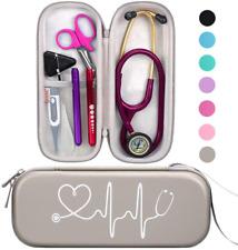 Bovke Stethoscope Case For 3m Littmann Classic Iii Lightweight Ii Se Mdf Acou