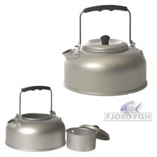 CAMPING TEEKESSEL Alu 1 Liter Outdoor Wasserkessel mit Teesieb, Wasserkocher