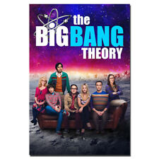 The Big Bang Theory Poster Decorative Canvas Painting Wall Art Picture 24X36inch