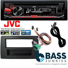 Volvo XC90 2002 On JVC Bluetooth USB MP3 AUX Amp Bypass Car Stereo Fitting Kit