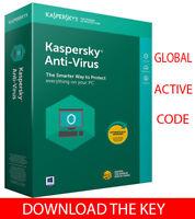 Kaspersky ANTI-VIRUS Security 2019 For Windows 3 PC/1 Year / Global Key / 12.25$