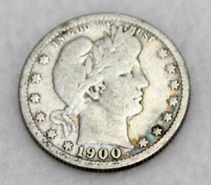 1900 Barber Quarter - Good Condition
