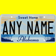 1/43-1/5 scale custom license plate set any brand RC/model car - Alabama tag