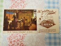 Buvard publicitaire CHOCOLAT CARDON