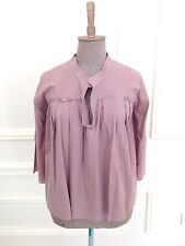 MARNI Dusty Rose Cotton Tunic Top Blouse Sz 42