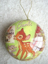 Disney World Store BAMBI Christmas Ornament NEW & Can be Name Personalized