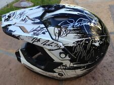 *SUPERCROSS*MULTI*SIGNED*AUTOGRAPHED*HELMET*DUNGEY*TOMAC*ROCZEN*+28 MORE*PROOF!!