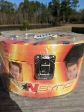 N Sync Jewelry Box 2001 No Strings Attached Promo + Patch Rare vintage