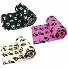 More details for large pet blanket for dog cat bed  soft fleece new 120 x 100 cm