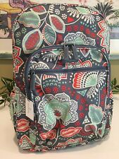 VERA BRADLEY LIGHTEN UP CAMPUS BACKPACK SCHOOL COLLEGE BOOK BAG NOMADIC FLORAL