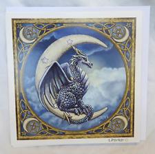 Lisa Parker Greetings Card - Dragon and Moon Design - BNIB