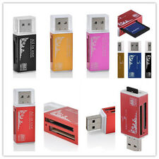 2.0 USB Memory Card PRO DUO All in 1Multi Reader for Micro SD SDHC TF M2 MMC MS