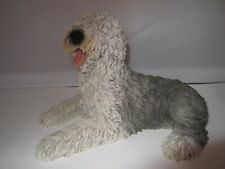 Old English Sheepdog dog figure Castagna model made in Italy with certificate