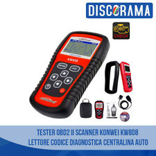 TESTER OBD2 II SCANNER KONWEI KW808 LETTORE CODICE DIAGNOSTICA CENTRALINA AUTO