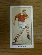 1955 Trade Card: Charlton Athletic - Robert Ayre [Card No.23] D.C. Thomson/The W