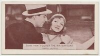 Claudette Colbert + Ben Lyon 1935 Ardath SCENES FROM BIG FILMS Tobacco Card #89