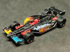 2012 Hot Wheels Indycar Oval curso Race Car -2012 nuevos modelos NEGRO en muy buena condición