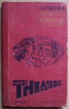 ) catalogue timbres poste THIAUDE 1945