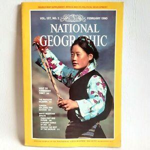 National Geographic Magazine February 1980