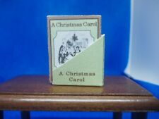 PRINTED COPY OF A CHRISTMAS CAROL FOR A DOLLS HOUSE