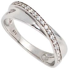 Normal behandelte Ringe aus Weißgold mit Gute