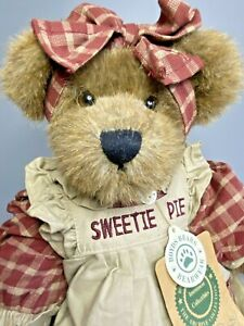 """Retired Boyds Bears Aunt Becky Bearchild Sweetie Pie 12"""" Plush Jointed Teddy"""
