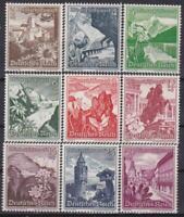 Nazi 3rd Reich 1938 Winter Relief  Fund Finest MNH!!
