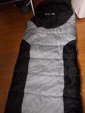 SLEEPING BAG - Hardly used - Grey & Black